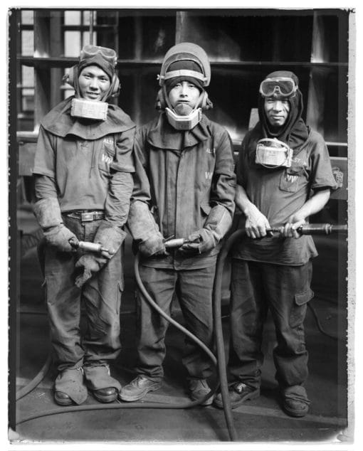 Behind China's Growth, portraits des ouvriers des usines de Alstom en Chine, l'usine de Beijing et de Tianjin.