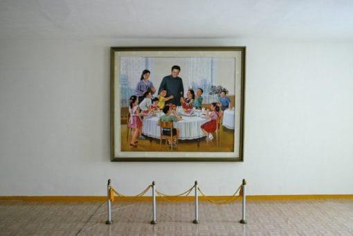 Illustration vie quotidienne en Coree du Nord, derniere dynastie communiste au monde.