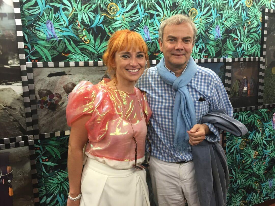 Cristina De Middel opening ceremony with Angela Berlinde director of the Braga photo Festival Encontros da Imagem