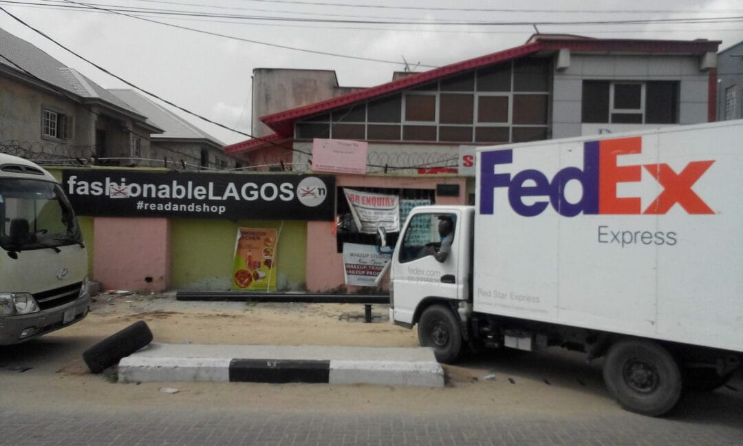 Our fixer said from Lagos just few minutes ago: Hello, FedEx has picked up from my office few minutes ago. Attached is a confirmatory picture. Thank you. a big surprise to come with this photobook #RobinHammond #MyLagos #LimitedEdition #EditionsBessard