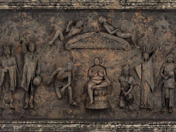 """Wang Qingsong #photobook """"History of Monuments"""""""