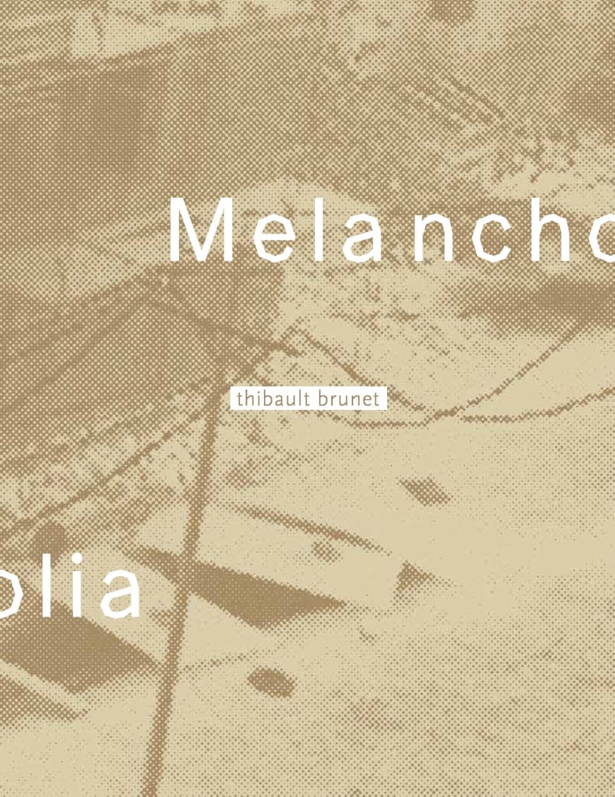 Melancholia by Thibault Brunet, a limited edition of 250 copies with a signed c print… A photobook to come and not printed but is left few copies, happy publisher