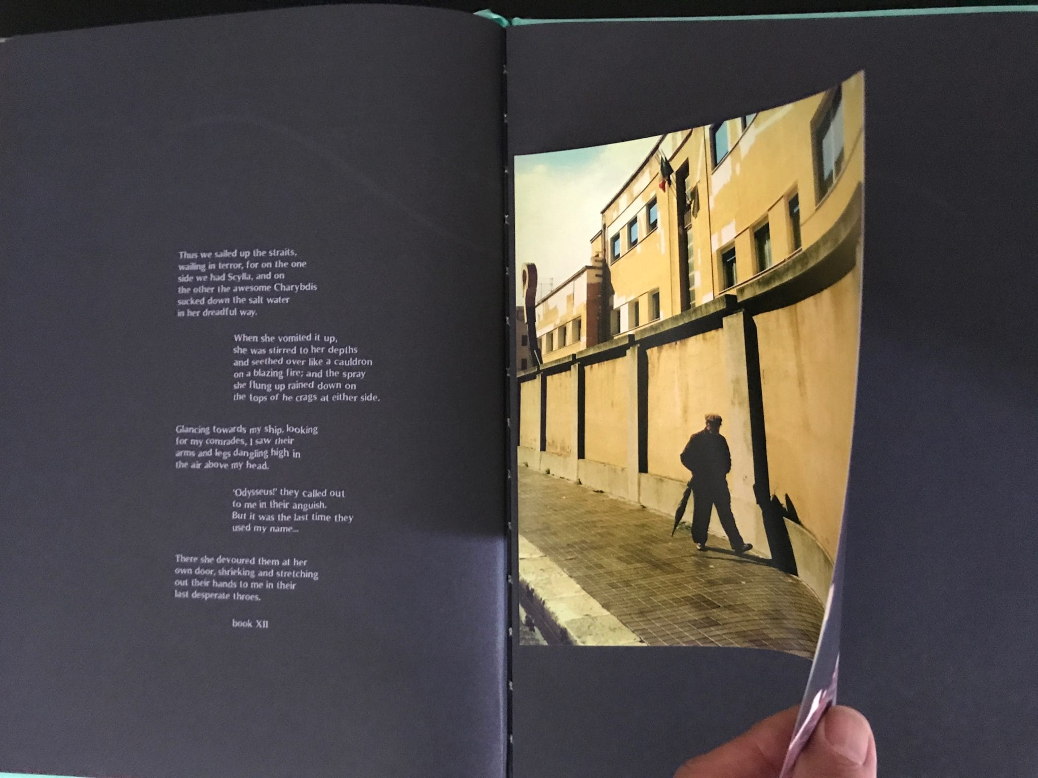 #Idssey by Stefano De Luigi a limited edition of 500 copies numbered by the artist, include a signed c print. A double page of the photobook, fantastic design, text by Laura Serani.  Editions Bessard available on our website Now! here the link: http://www.editionsbessard.com/product/idyssey-limited-edition-of-500-copies-signed-c-print/