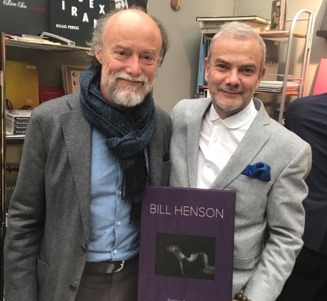 My good friend Bill Henson visit me at the Grand Palais Paris Photo,  …. a new book to come with Bill for 2018