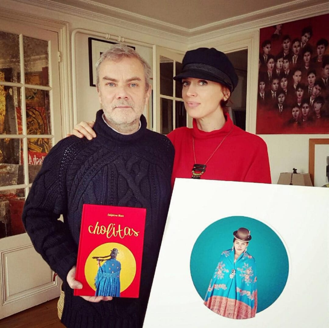 Happy publisher, it's remain 59 copies in 1 month of our #BeSpoke #Cholitas by #DelphineBedel.  At home with the Top Model Delphine #LimitedEdition include a signed C print #ArtOfPerfection #Bolivia
