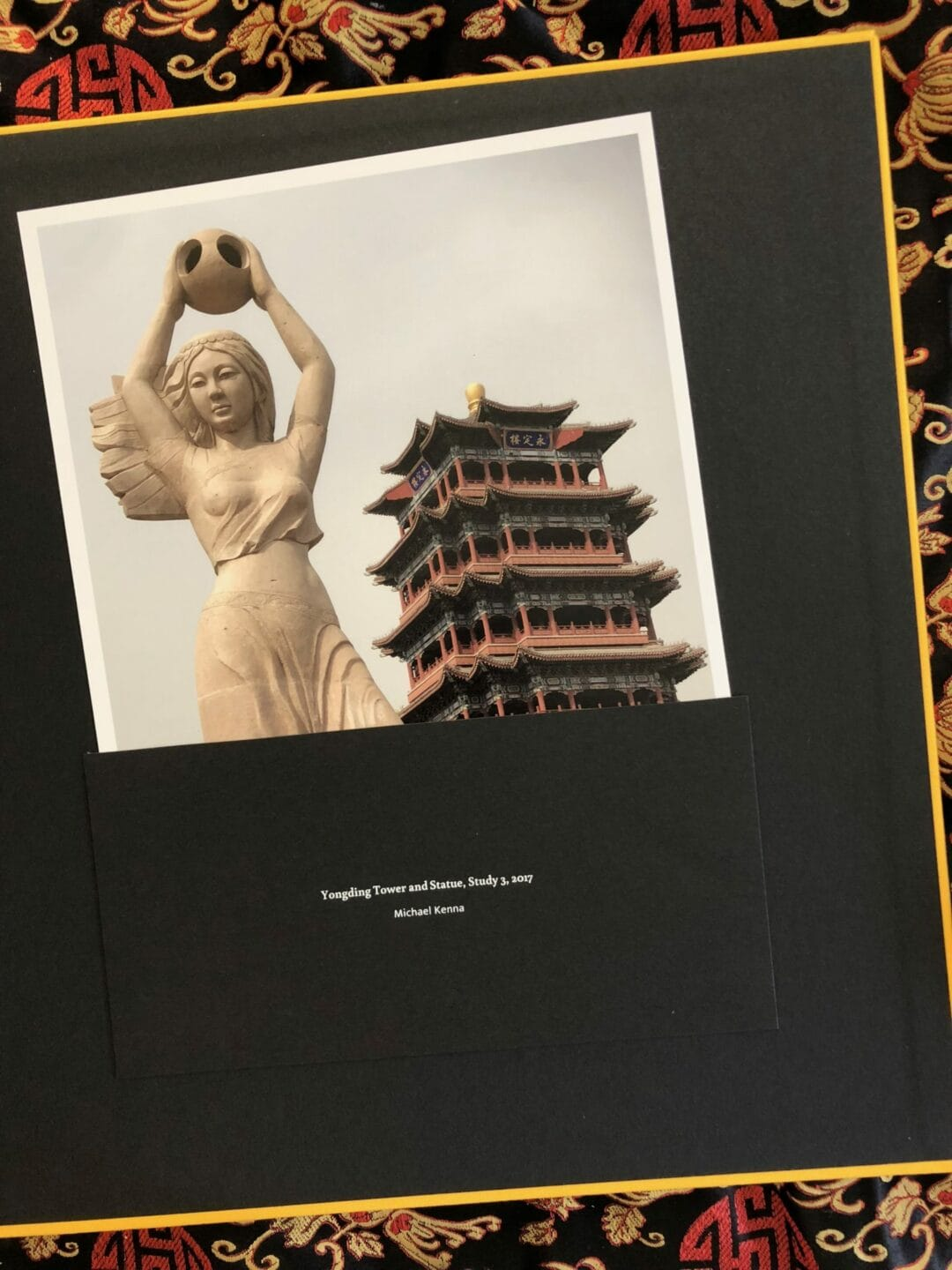One Sunday in Beijing by Michael Kenna, Limited edition of 735 copies, 600 sold in one week #HappyPublisher #ArtOfPerfection Éditions Bessard c print souvenir of Beijing and one of the window in the book…