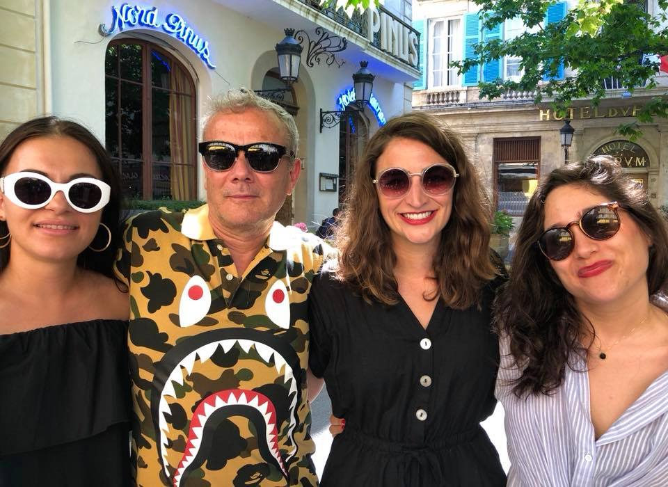 In mode Arles, the magic team Anna Ehrenstein Pierre Bessard Holly Roussell Laia Abril #HappyPublisher