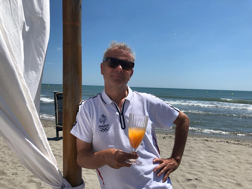 In mode Arles, working at the beach on Antoine D'Agata new project photobook…#HappyPublisher