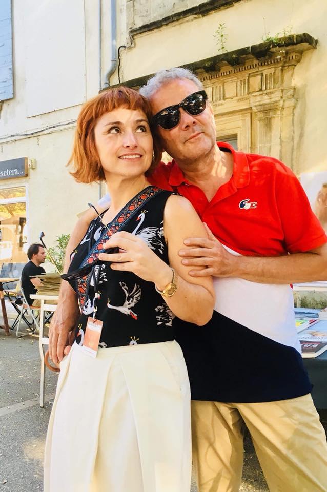 In mode Arles at my éphémère Pop Up Store , Parti Communiste Français with my love Ângela Berlinde… Pierre Bessard