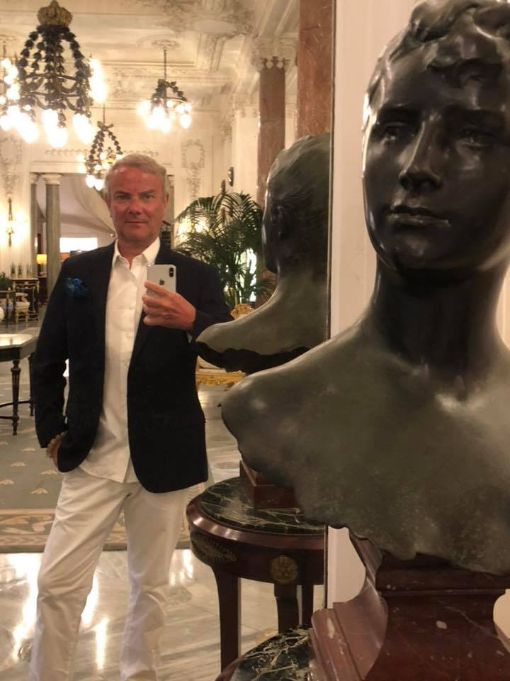 In mode Biarritz, Hotel du Palais, dîner à Villa Eugénie …
