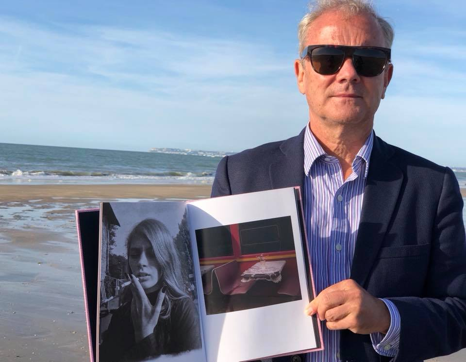 """Lara Gasparotto, """"Come dawn to us""""BeSpoke Collection N•12 take the sun on the Deauville beach. #BeSpokeCollection design by Cyrielle Mld #EditionsBessard #HappyPublisher #ArtOfPerfection"""