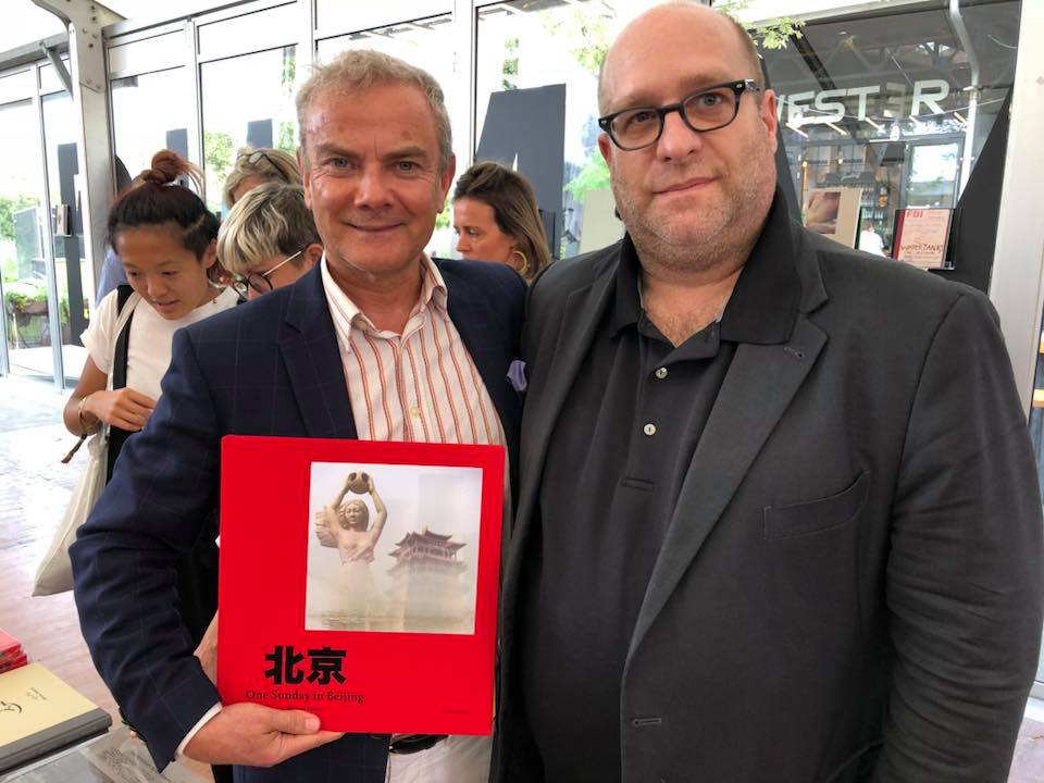 In mode Amsterdam, Unseen book fair with my friend Todd Hido, a photobook to come ! #HappyPublisher