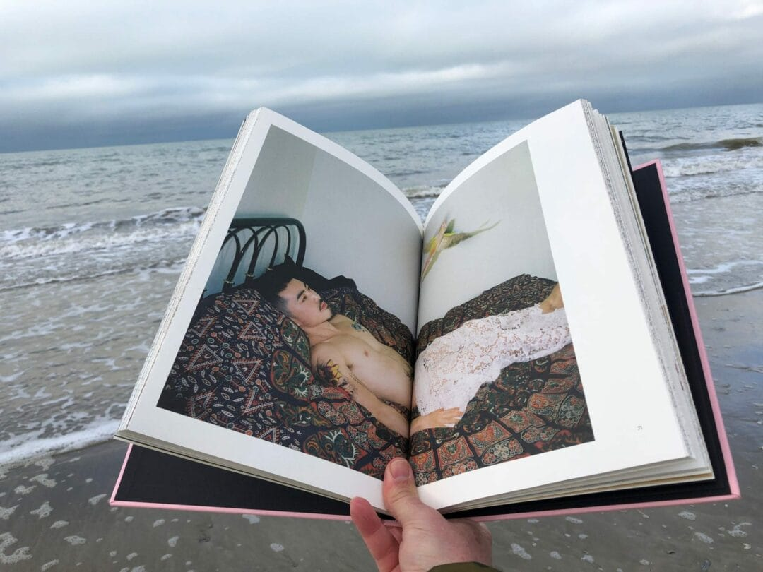 #HappyPublisher & #HappyNewYear from Deauville #BestPhotobooks of 2018 by #SimonBaker My top 10 Photobooks of 2018: Sour Strawberries by Zhipeng Lin aka 223) 223 is one of my favourite discoveries of 2018, even though I feel that I should already have known about this brilliant and important artist. His latest book, a project by Pierre Bessard, brings together 223s stunning photographic work with a beautiful and intelligent design that evokes, and plays with, the logical of the censorship of explicit images. Each pixelated photograph is printed on the outside of uncut pages which, when cut, reveal the same complete image within. Editions Bessard #book #offset #photo #livre #editionsbessard #ArtOfPerfection #limited #limitededition #handmade #photography #signed #photobook #print #art #design #graphic #photographie #contemporaryartist #collectors #artist #contemporaryartcollector #bookdesign #bookcover #typography #graphicdesign #printdesign Luigi Clavareau