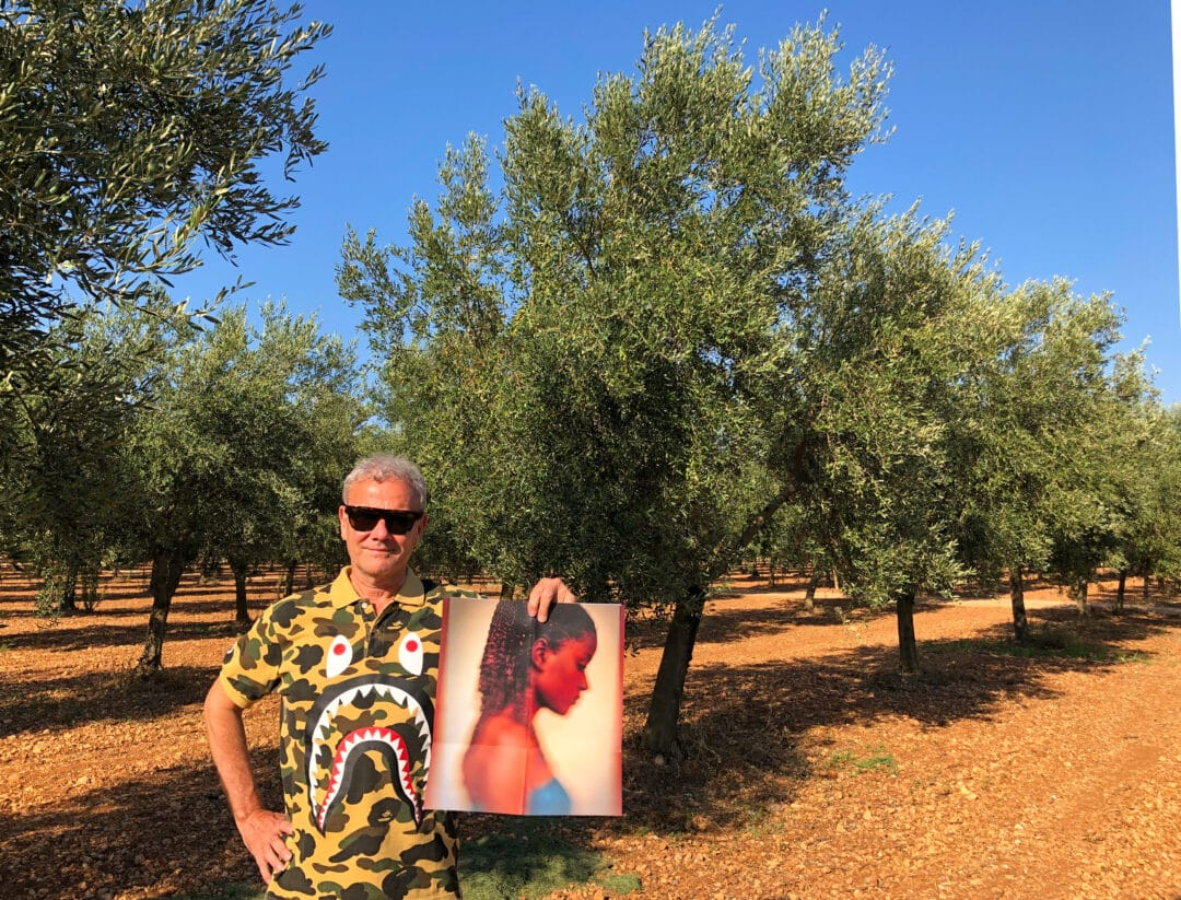 """NEW collection: L'IMPERIALE COLLECTION N•1 by the #Brazilian #photographer @claudioedinger Invited by the chef (olive oil sommelier) to visit the organic olive grove of """"#tenutaventerra  Organic"""" #Happypublisher Limited Edition 250 copies + signed c print only 36€  #editionsbessard"""